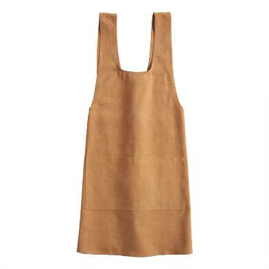 Golden Yellow Washed Cotton Smock
