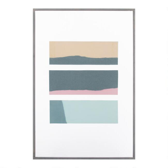Glassy 5 by Natasha Marie Framed Canvas Wall Art