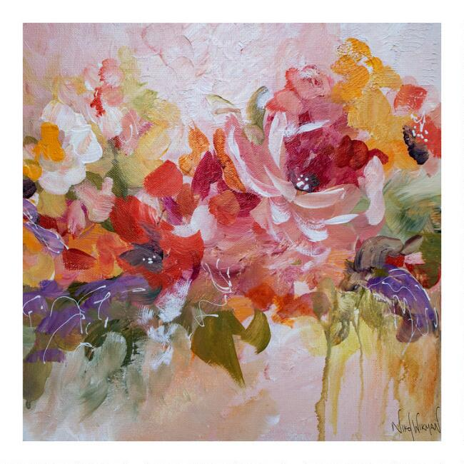 A Song of Spring by Nikol Wikman Canvas Wall Art