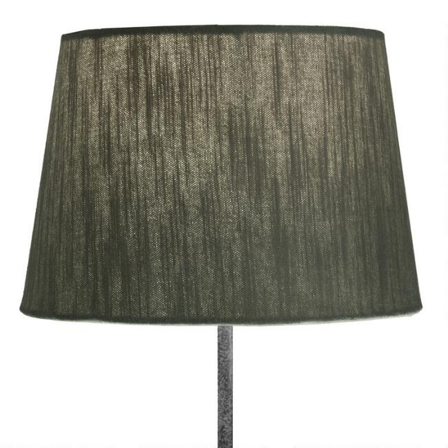 Sage Green Velvet Accent Lamp Shade