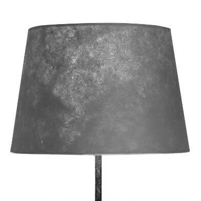 Solid Gray Accent Lamp Shade