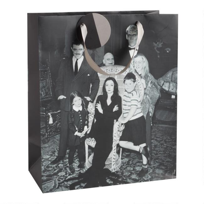 Large Addams Family Gift Bag