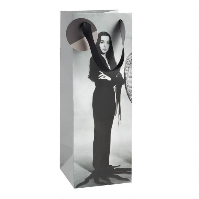 Large Addams Family Morticia Wine Bag