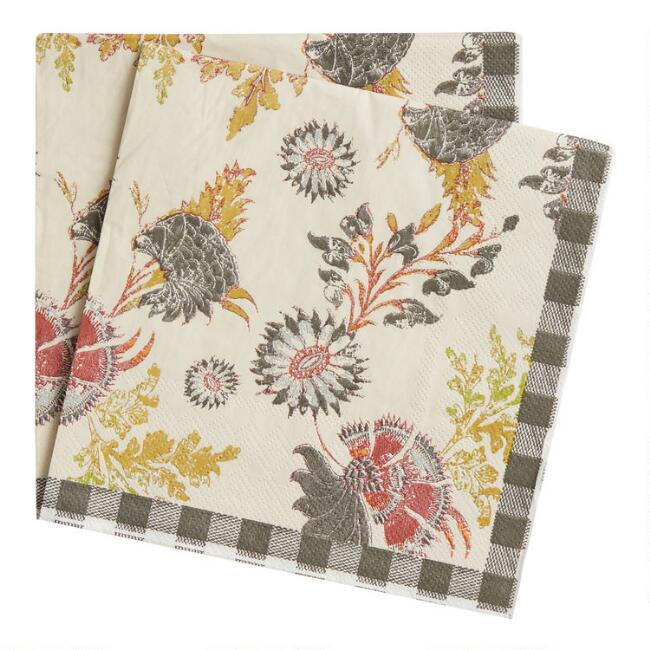 Rustic Retreat Lunch Napkins 20 Count