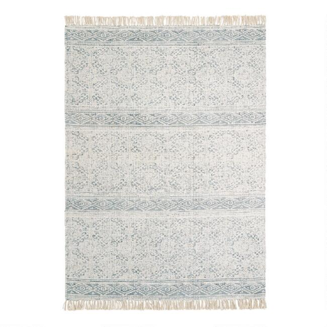 Persian Style Woven Jute Pacifica Rug with Backing