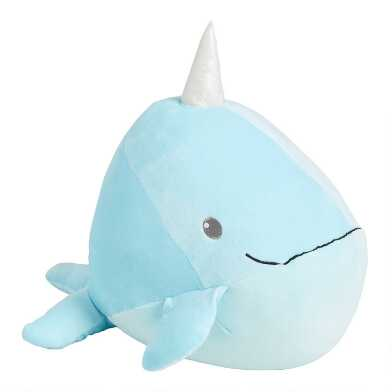 Cuddle Pals Finn the Plush Stuffed Narwhal