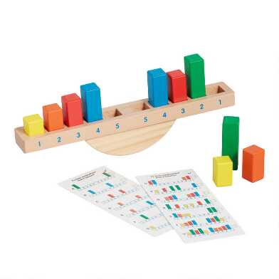 Melissa and Doug Rainbow Balance Classic Wood Toy