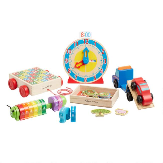 Melissa and Doug Wooden Toy Collection
