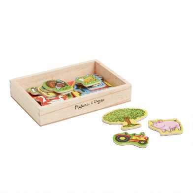 Melissa and Doug Wooden Farm Magnets
