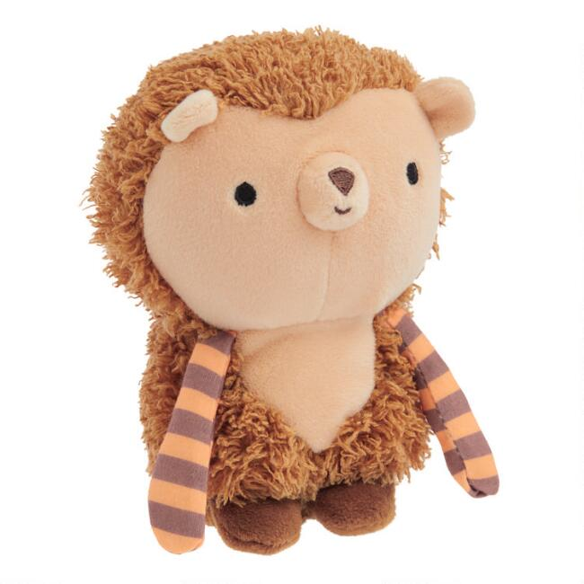 World Market® Critters Mini Stuffed Plush Hedgehog