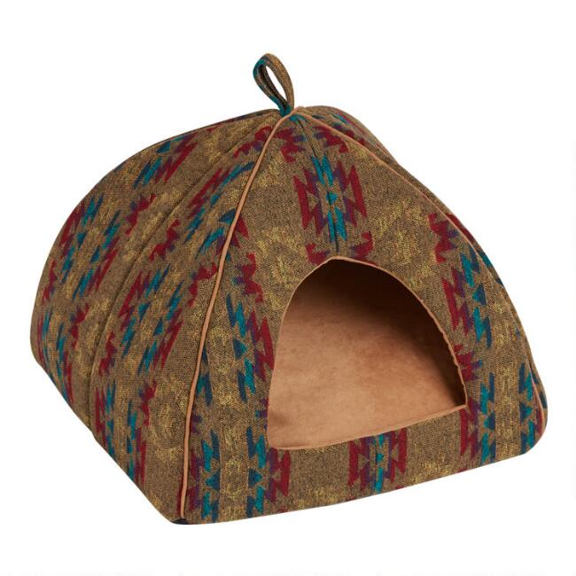 Multicolor Jacquard Avery Pet House