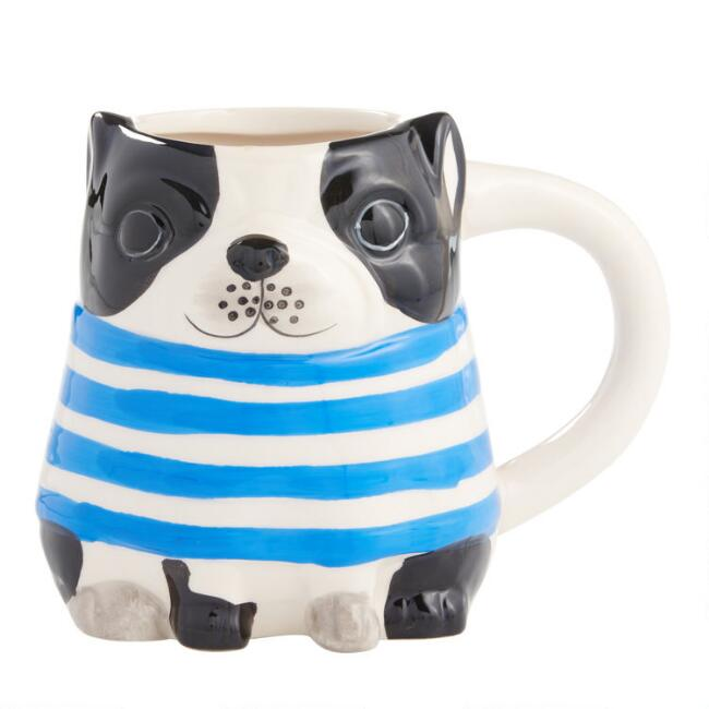 French Bulldog Figure Mug