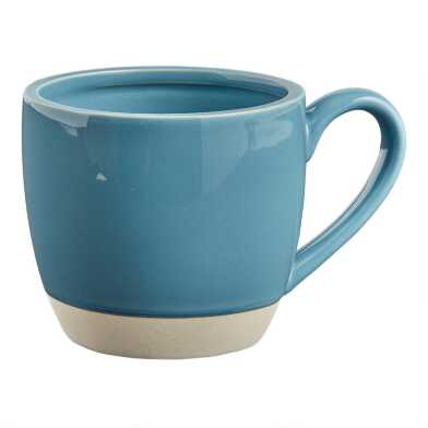 Marine Blue Surprise Hippo Mug
