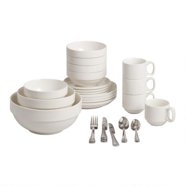 Everyday Stacked Dinnerware Collection