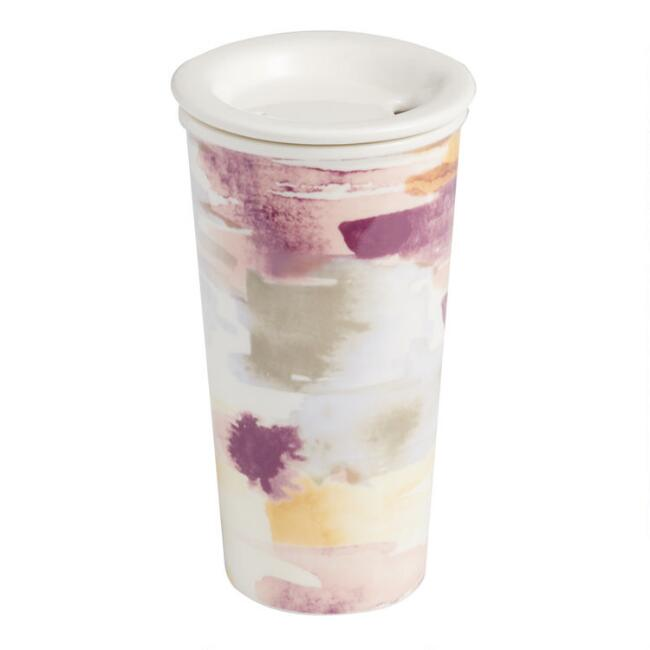 Watercolor Porcelain Travel Not A Paper Cup