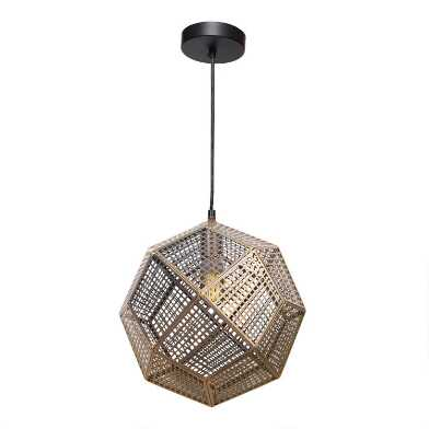 Brass Geometric Dominic Chandelier