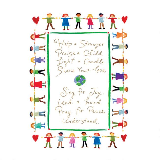 Help Others Boxed Holiday Cards Set of 15