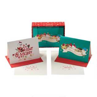 Hello Kitty Boxed Holiday Cards Set of 15