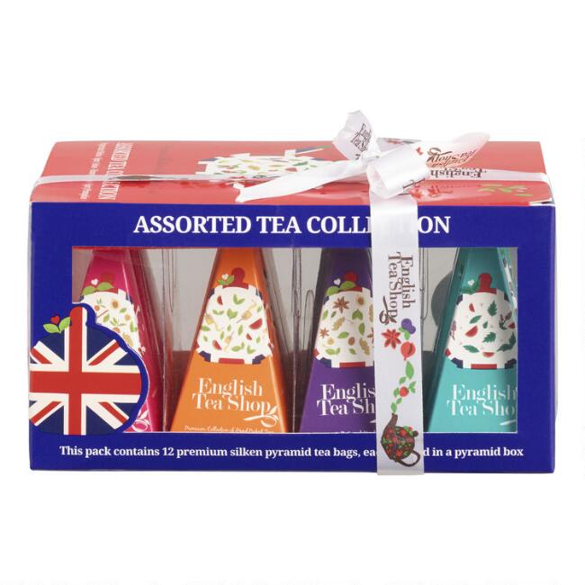 English Tea Shop Christmas Tea Collection 12 Count