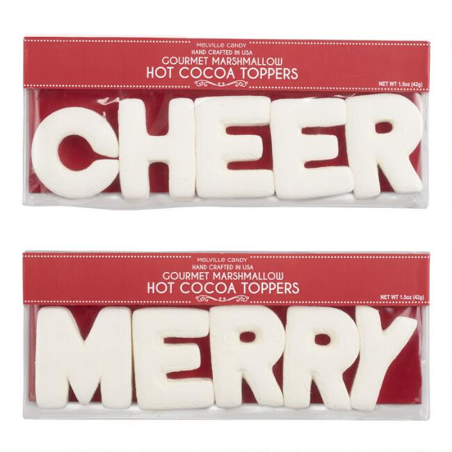 Melville Cheer & Merry Marshmallow Cocoa Toppers
