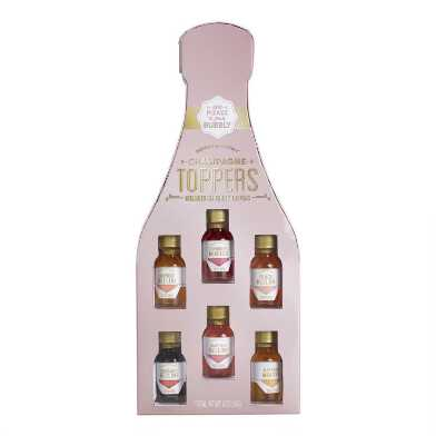 Champagne Toppers Drink Mixers 6 Pack