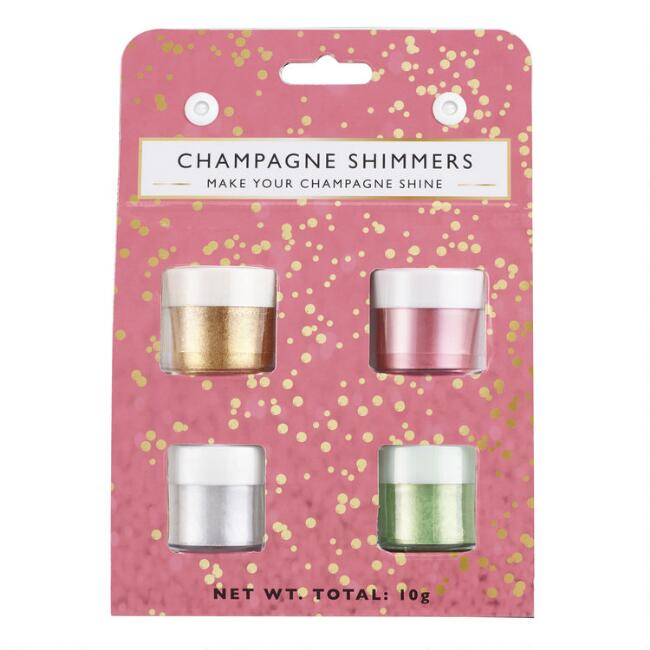 Champagne Shimmers 4 Pack