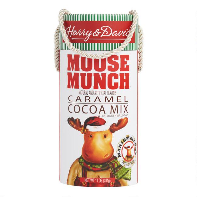Harry & David Moose Munch Caramel Cocoa With Marshmallows