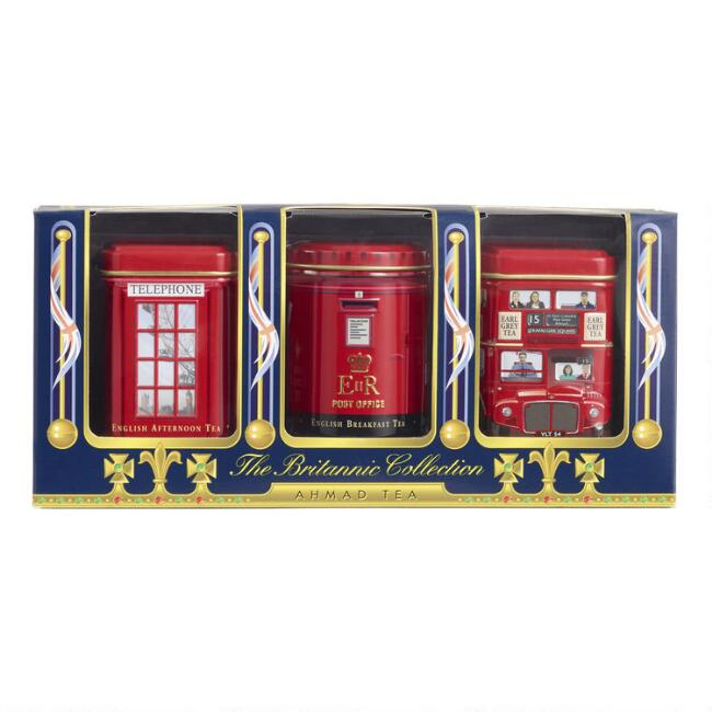 Ahmad Tea Britannic Collection Gift Set