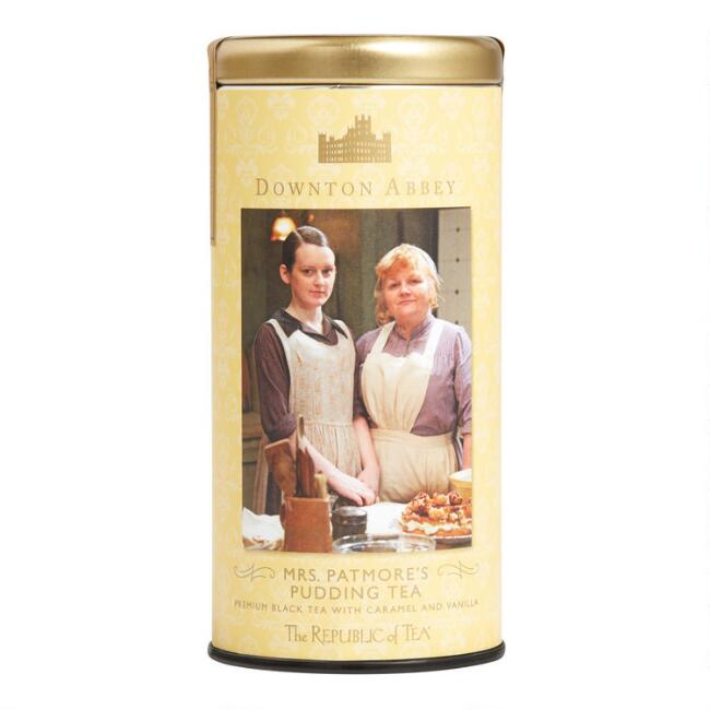 The Republic of Tea Downton Abbey Mrs Patmore's Pudding Tea