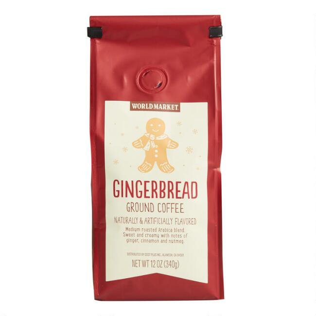 12 Oz. World Market® Gingerbread Ground Coffee