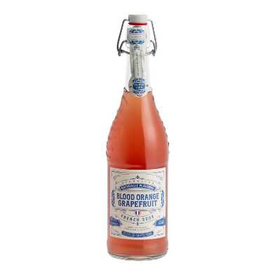 Sparkling Blood Orange Grapefruit French Soda