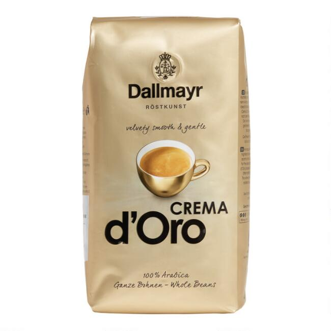 Dallmayr Crema D'Oro Whole Bean Coffee