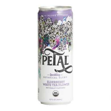 Petal Elderberry White Tea Flower Sparkling Water