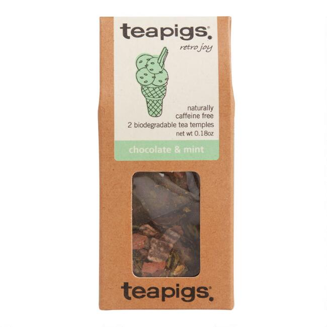 Teapigs Mini Chocolate and Mint Tea Temples 2 Count