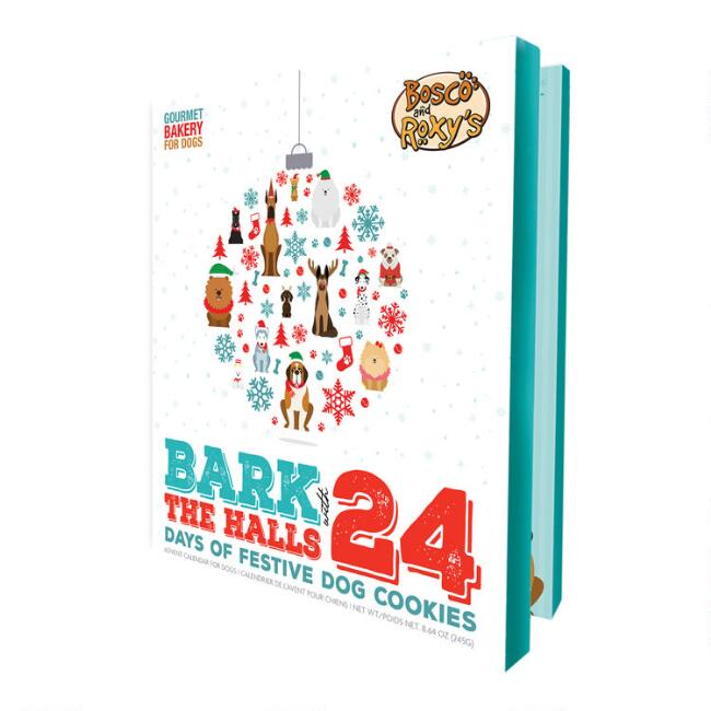 Bosco & Roxy's Bark the Halls Dog Treat Advent Calendar