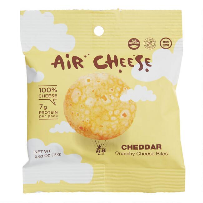 Air Cheese Cheddar Crunchy Cheese Bites Snack Size