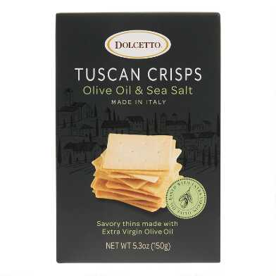 Dolcetto Olive Oil and Sea Salt Tuscan Crisps