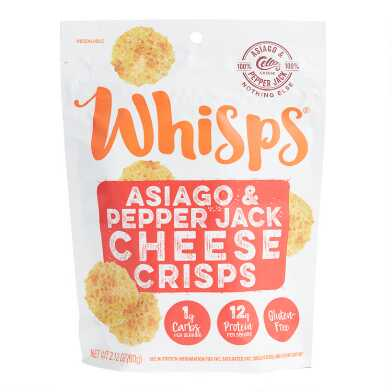 Whisps Asiago and Pepper Jack Cheese Crisps