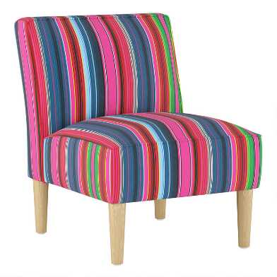 Serape Stripe Ivan Upholstered Chair