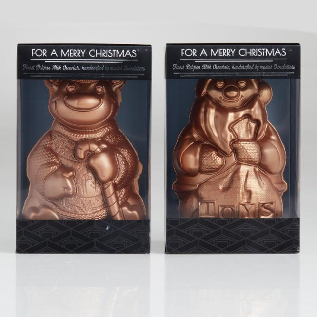 Wawi Bronze Chocolate Christmas Figurines