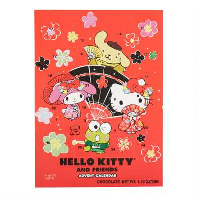 Wawi Chocolates Hello Kitty Advent Calendar