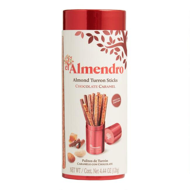 El Almendro Caramel and Chocolate Turron Sticks