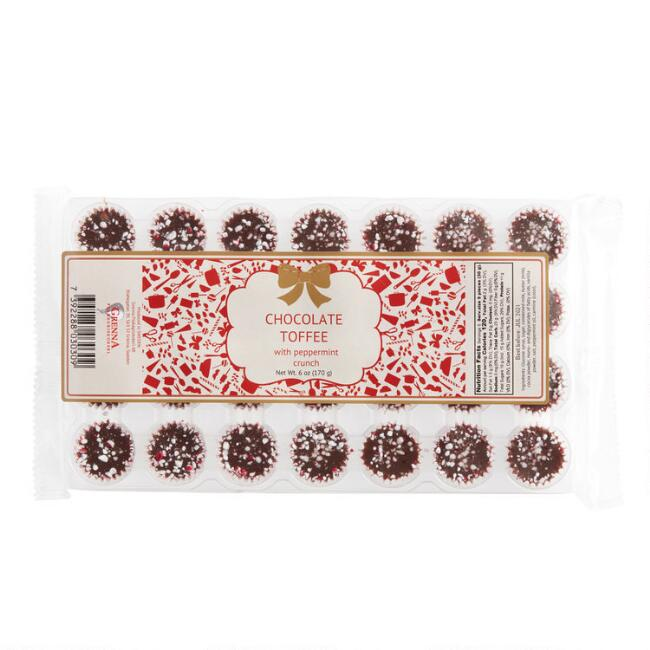 Grenna Chocolate Toffee with Peppermint