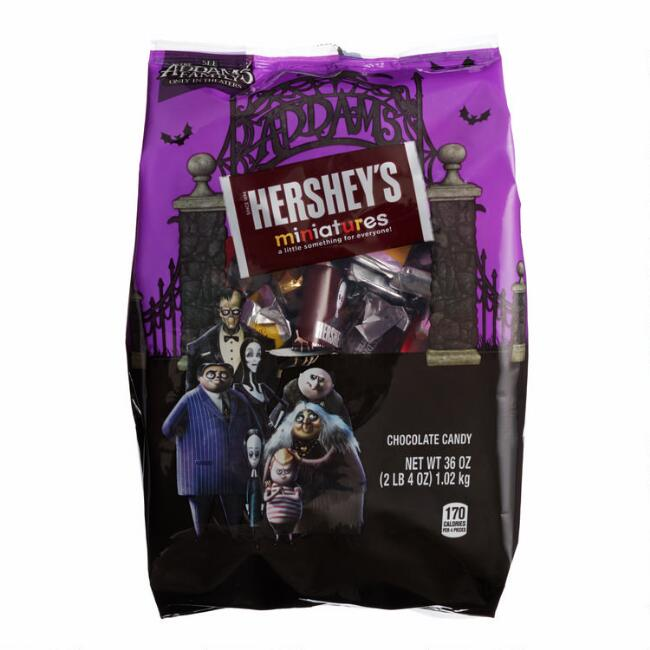Animated Addams Family Hershey's Miniatures Chocolate Bars