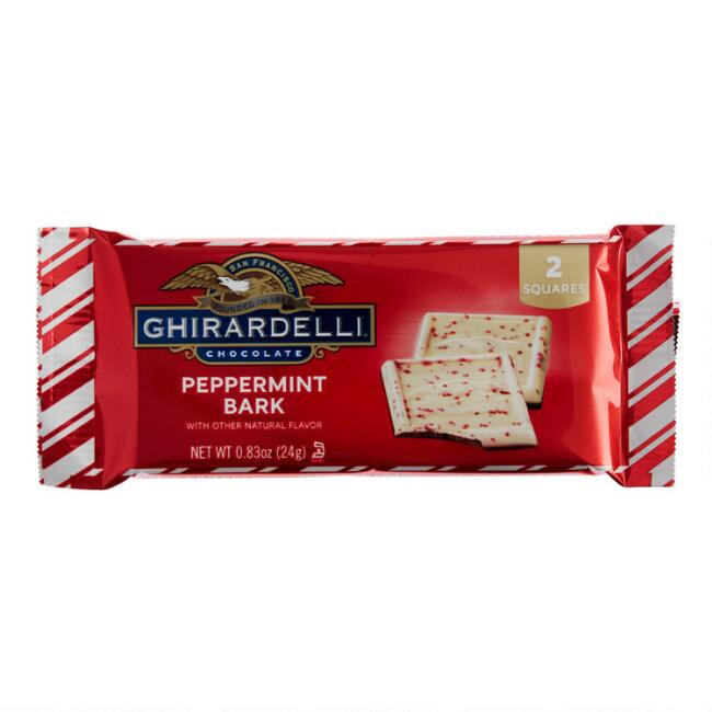 Ghirardelli Peppermint Bark Squares 2 Piece