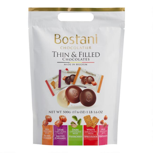 Bostani Thin & Filled Assorted Chocolate Bag