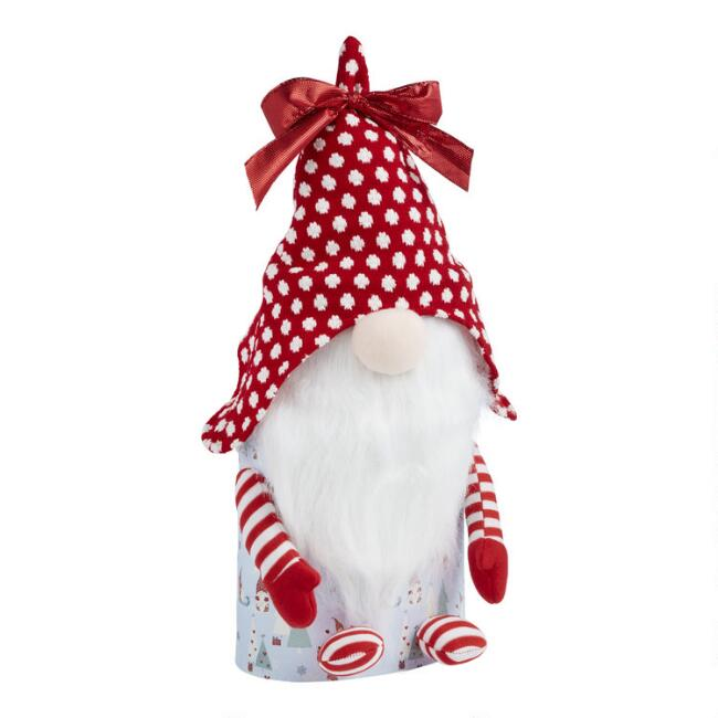 Holiday Gnome Treats Gift Tower