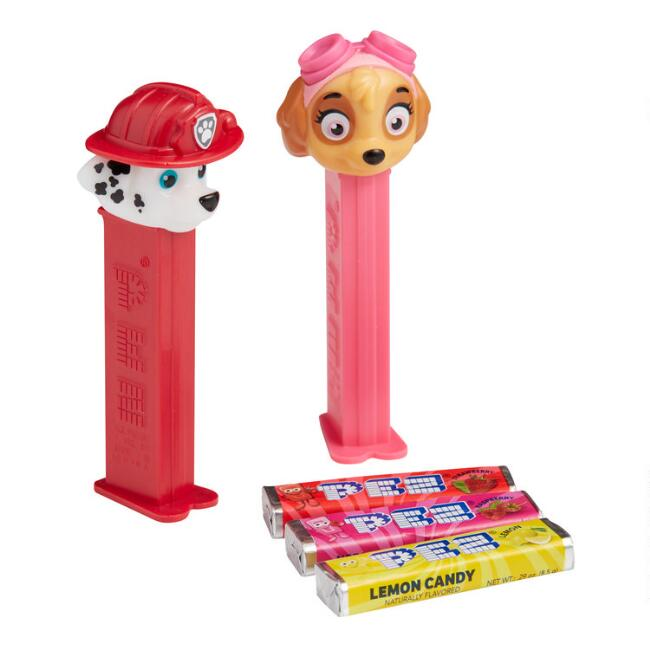 Pez PAW Patrol Dispenser And Candy 2 Pack