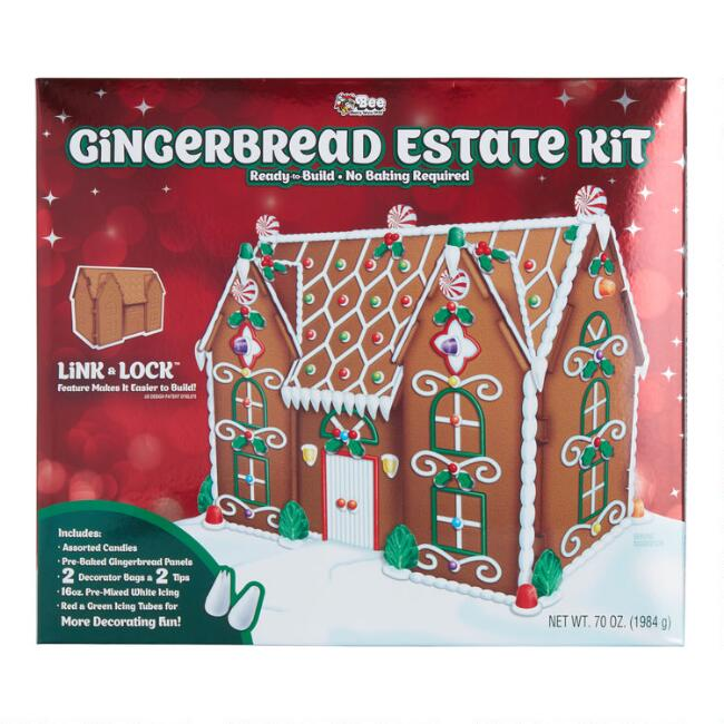 Gingerbread Estate Kit