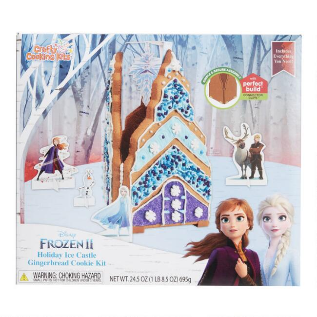 Disney Frozen II Sugar Cookie Castle Kit
